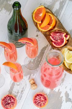 Lemonade Mimosas: We'll always love mimosas, but sometimes it's nice to put a new spin on a classic. This Champagne cocktail adds lemon and blood orange juice to the mix for a truly delicious drink.