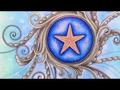 LOST OCEAN BY Johanna Basford - prismacolor pencils - YouTube