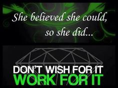 She believed she could, so she did...... Triple Diamond here I come!  It Works Global can make all your dreams come true!  Dream Big - Dream BOLD.  $99.00 can change your life.  It's changed mine!  www.AZWrapUSkinny.com