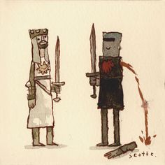 Monty Python and the Holy Grail by Scott Campbell