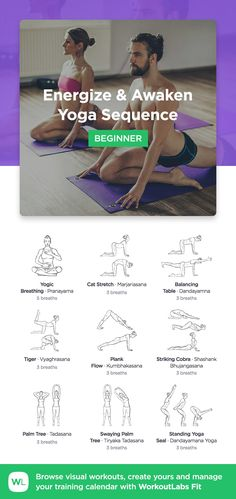 Dynamic Warm-Up Yoga Sequence for beginners by WorkoutLabs Fit · View and download printable PDF: https://workoutlabs.com/s/h1OZk