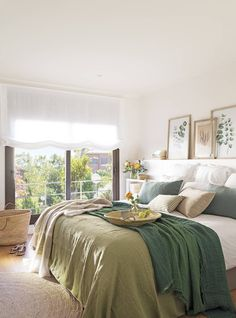 〚 House with a sunny mood in the suburbs of Barcelona 〛 ◾ Photos ◾Ideas◾ Design Bedroom Themes, Bedroom Decor, Home Interior Design, Interior Decorating, Warm Bedroom, Bedroom Bed, Home Staging, Beautiful Interiors, Sweet Home