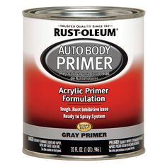 RUST-OLEUM Auto Body Paint, Gray, 1 Qt. - 6PER2|253499 - Grainger