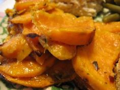 Ginger-Lime Sweet Potatoes    Healthy recipe