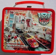 Transformers lunchbox