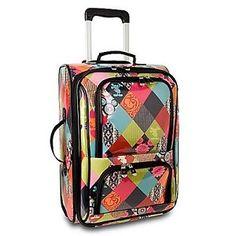"Disney Luggage - Rolling Argyle Mickey Mouse - 20"""