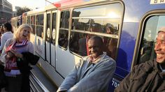 The Rea Vaya is one of Africa's first public bus systems.
