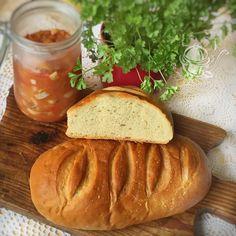 CHLEB PSZENNY NA MĄCE CHLEBOWEJ - NAJPROSTSZY Polish Recipes, Polish Food, Gra, Polish Food Recipes