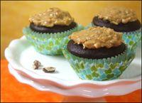 Lite German Chocolate Cupcakes - Hungry Girl