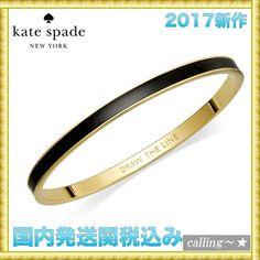 セレブ愛用者多数☆kate spade new york☆Idiom Bangle Bracelet