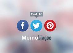 Find us! Memolingue #app