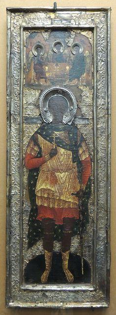 Saint Demetrius (Kremlin museum) by shakko - Мерная икона — Википедия