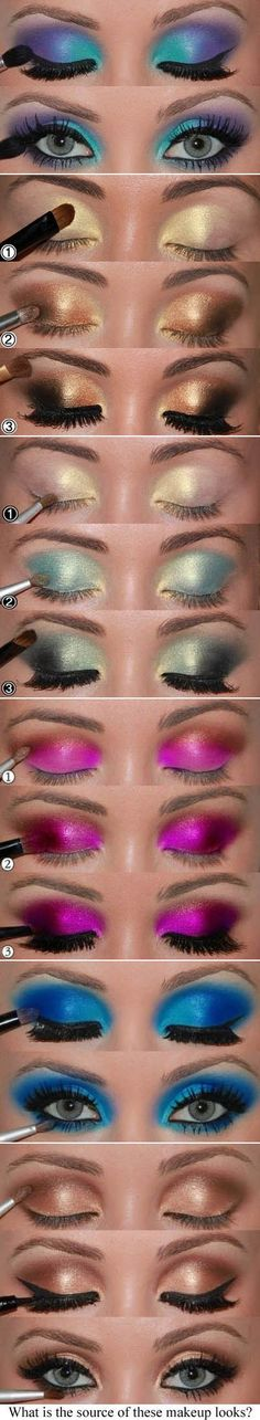 Eye Makeup inspired by Motives Cosmetics. Click to order of your Favourite color of Motives Eye Makeups. #Eyeshadow #Motives #Makeup