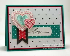 The Stampin' Schach: Stamp Review Crew: Hearts a Flutter Edition