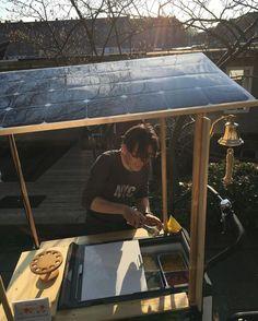 Full solar powered, fresh, organic ice cream!