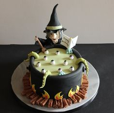 witch cake decorating ideas special occassion - Google Search