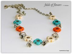 NorthShore Days.....: Fields of Flowers - A Necklace