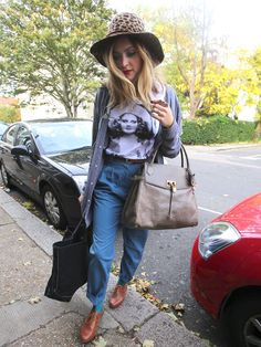 Cheetah hat worn by Fearne Cotton Fearne Cotton, Gamine Style, Winter Stil, Cotton Style, Fasion, Pretty Outfits, Everyday Fashion, Passion For Fashion, Autumn Winter Fashion