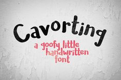 A handwriting typeface - free for personal and commercial use!