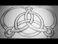How To Draw Celtic Trinity Knot |