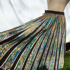 Currently in love with vintage Mexican circle skirts.