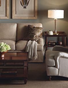 Sheffield Furniture & Interiors - PA, MD, VA #livingroominspiration #bakerfurniture #cozyneutrals