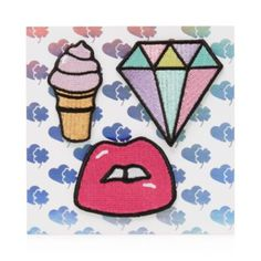 Stoney Clover Lane Lips, Ice Cream, Diamond Stick-On Patches | Bloomingdale's