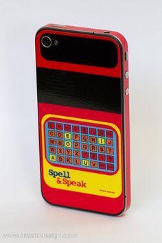 speak & spell phone cover