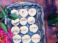 Rose Water Shortbread Cookies Recipe  at Epicurious.com