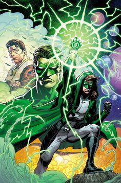 Green Lantern Annual vol 5 #4 textless cover art