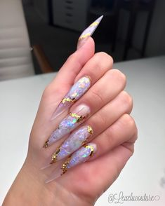 Semi-permanent varnish, false nails, patches: which manicure to choose? - My Nails Aycrlic Nails, Dope Nails, Swag Nails, Perfect Nails, Gorgeous Nails, Pretty Nails, Acryl Nails, Exotic Nails, Luxury Nails