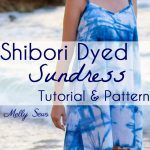 Shibori Dyed Sundress – How To Indigo Dye