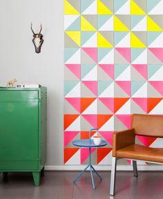 Wohnaccessoires mit geometrischen Formen und Mustern: Hängeleuchte aus Beton von Gantlights   LIVING AT HOME