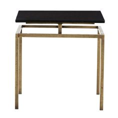 Arteriors Home Indigo Antique Brass Side Table On SALE