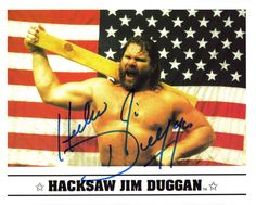 Hacksaw Jim Duggan Pleasure To Meet You, Wwe, Opera, Girly, Wrestling, Random, My Love, Sports, People