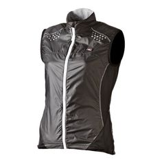 NSR Women's Wind Gilet Vest, Dark Grey, X-Large - http://ridingjerseys.com/nsr-womens-wind-gilet-vest-dark-grey-x-large/