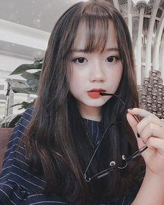 Pretty Korean Girls, Korean Beauty Girls, Cute Korean Girl, Cute Asian Girls, Beautiful Asian Girls, Cute Girls, Cute Kawaii Girl, Cute Girl Face, Japonese Girl