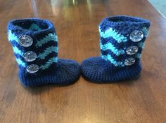 6-12 Month Baby Booties for Eloise