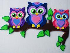 Owls in Foam Craft Sheets                                                       …