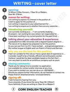 how to write a cover letter in english learnenglish more - Write A General Cover Letter