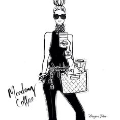 Monday Coffee.. Megan Hess!