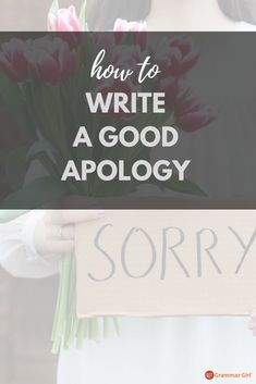 Step-by-step instructions for writing an apology that will truly show your remorse. Writing Prompts For Writers, Writing Memes, Writing Notebook, Writing A Book, Grammar Quotes, Grammar Humor, Grammar And Vocabulary, Did You Know Trivia, Giraffe Blanket