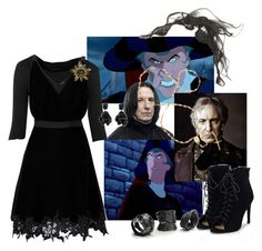 """""""Claude Frollo"""" by sixela14 ❤ liked on Polyvore featuring Miss Selfridge, Chanel, JustFab and Alcozer & J"""