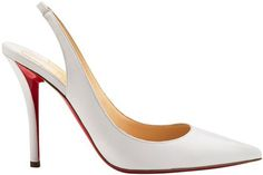 Christian Louboutin's Spectacular Designs Apostrophy Sling for Spring/Summer 2014