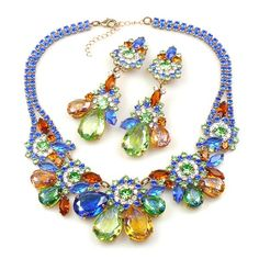 Parisienne Bloom ~ Necklace Set ~ Polar Stars