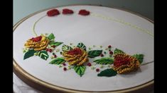 Hand Embroidery Designs   Brazilian embroidery   Stitch and Flower-172