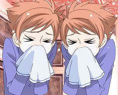 There are a ton of characters in Ouran High School Host Club to get to know and enjoy, but the most interesting and complex of all have to be Kaoru and Hikaru. Here are some GIFs that portray their twin personalities! Colégio Ouran Host Club, Host Club Anime, School Clubs, High School Host Club, Got Anime, Anime Manga, Anime Boys, Gifs, Hikaru Hitachiin