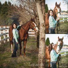 A Rodeo Princess & Her Handsome Horse | Oregon Senior Photographer, Kari Rae Photography