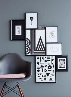 Grau besitzt viele Facetten und als Wandfarbe zahlreiche Gestaltungmöglichkeiten. ➥ Unsere Wohnideen mit Grau.                                                                                                                                                                                 Mehr
