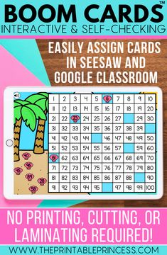 Help your students practice kindergarten skills in a fun, interactive way. These digital task cards are great for learning at home or at school. Use them as reinforcement during distance learning or at a technology center in the classroom.  Boom Cards are digital, self-checking task cards. They are digital so there's no printing, laminating, or cutting. They are self-checking which means students submit their answers and get instant feedback and there's no grading for you.